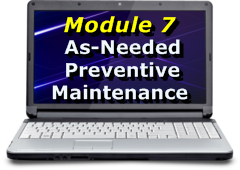 As-Needed Computer Preventive Maintenance