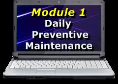 Module 1 - Daily Maintenance
