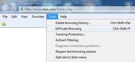 inprivate-browsing-menu