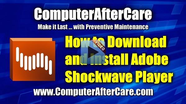 adobe shockwave latest version download