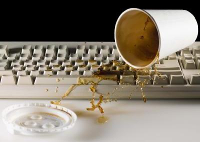 keyboard spill